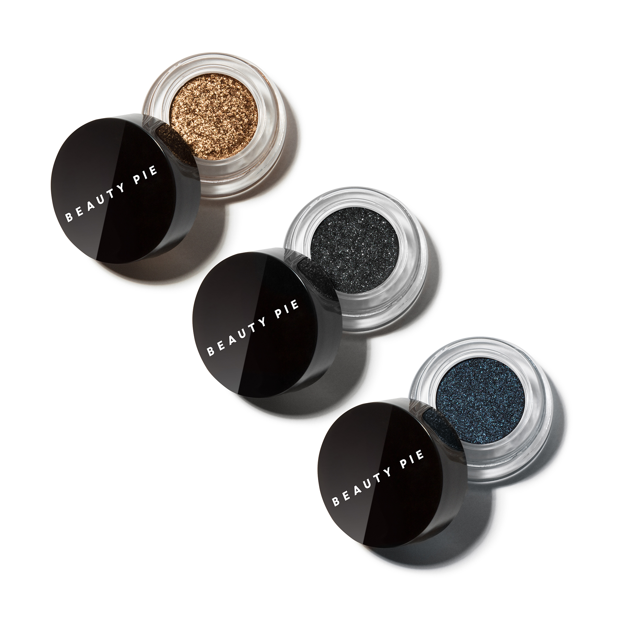 Foil Rush™ Shimmer Eyeshadow Trio by Beauty Pie