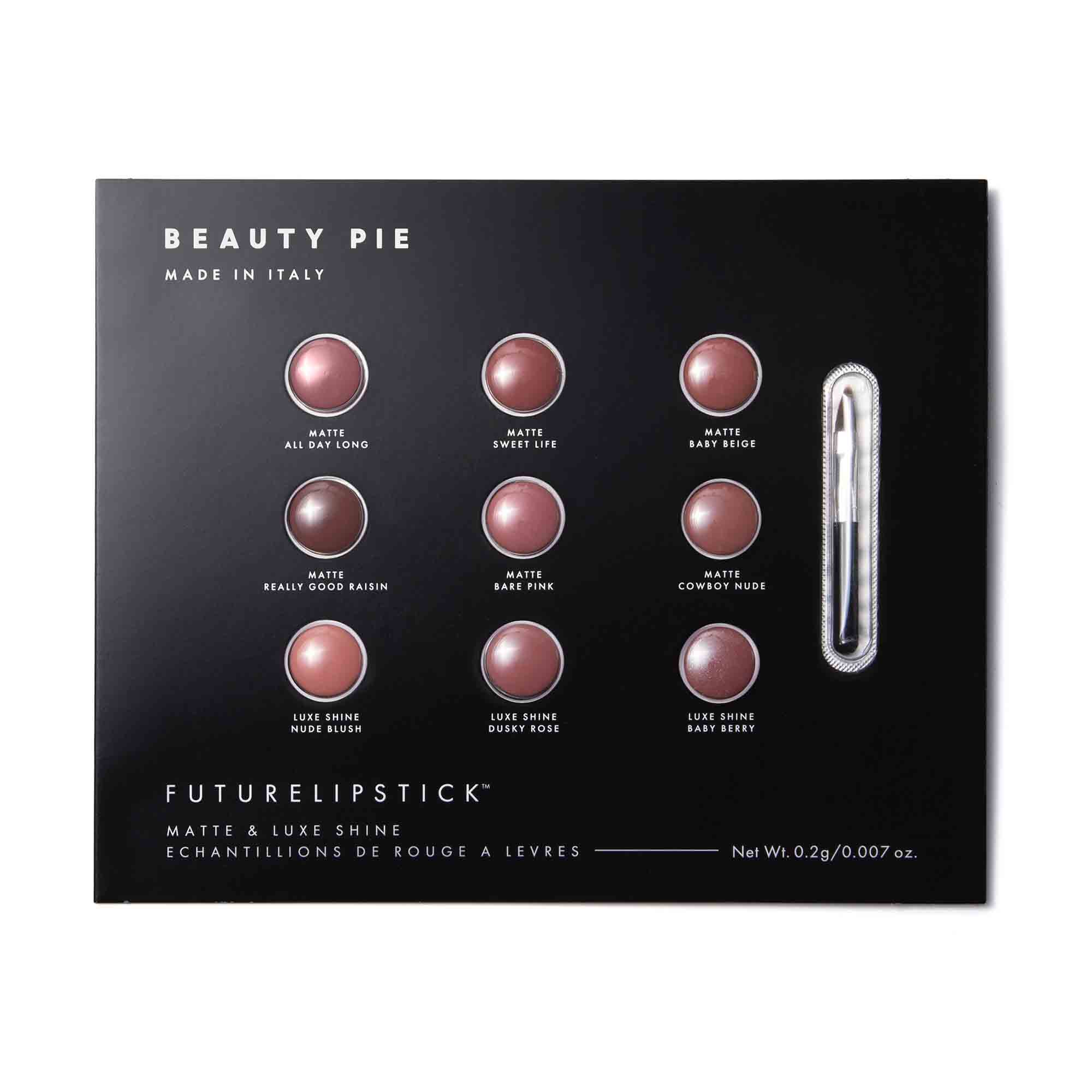 Futurelipstick™ Sample Set by Beauty Pie