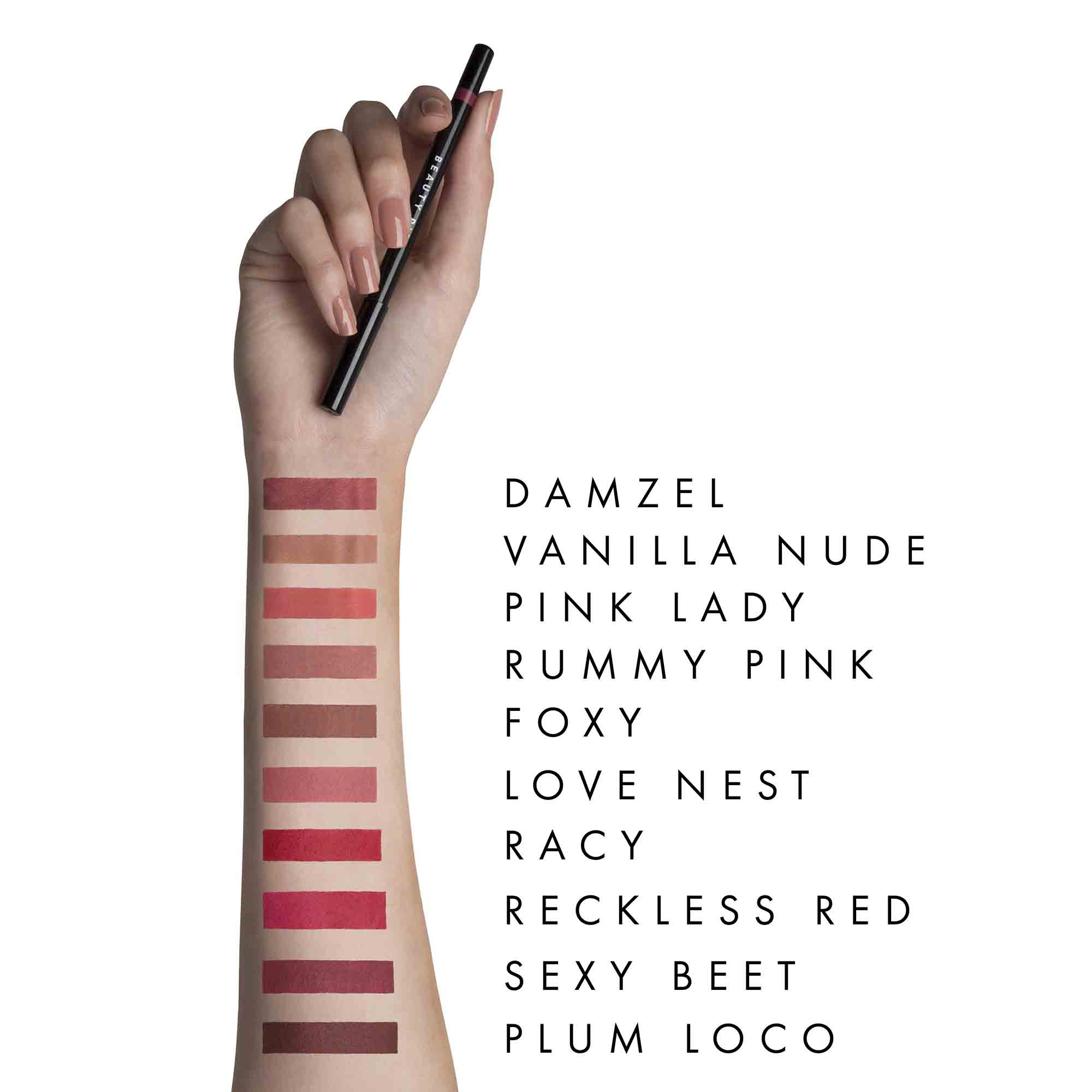 Wondergel Long Wear Lip Liner in Sexy Beet at Beauty Pie