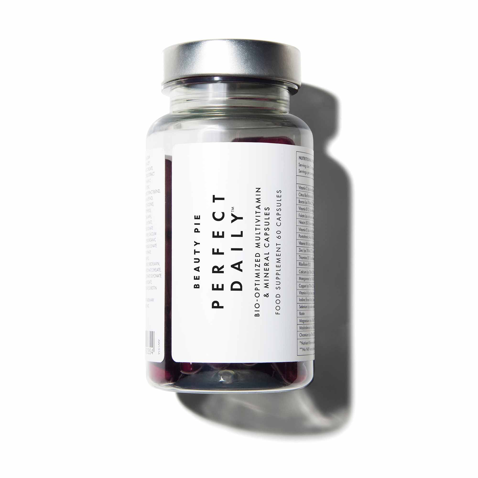 Image for Perfect Daily™ Bio-Optimized Multivitamin & Mineral Capsules from BeautyPie UK