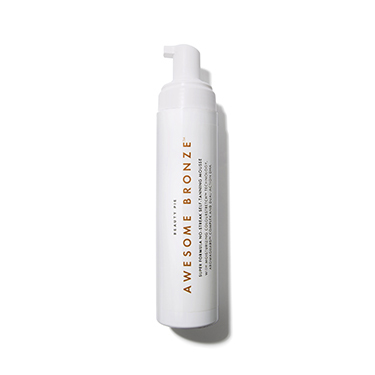 Awesome Bronze™ Super Formula No-streak Self Tanning Mousse