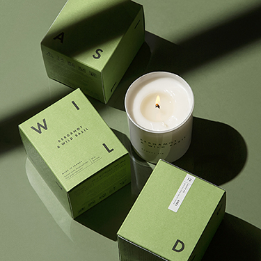 Bergamot & Wild Basil Luxury Scented Candle by Beauty Pie
