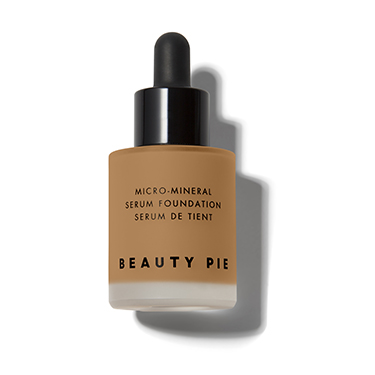 Oil Free Micro-Mineral Serum Foundation in Caramel
