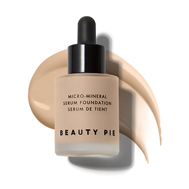 Oil Free Micro-Mineral Serum Foundation in Buttermilky