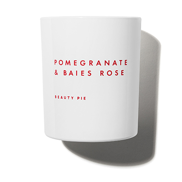 Pomegranate & Baies Rose Luxury Scented Candle