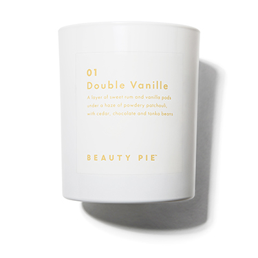 01 Double Vanilla Luxury Scented Candle