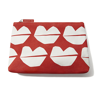 Limited Edition Lips Makeup Bag (Large)