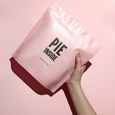 Pink Pie Giftwrap Bag