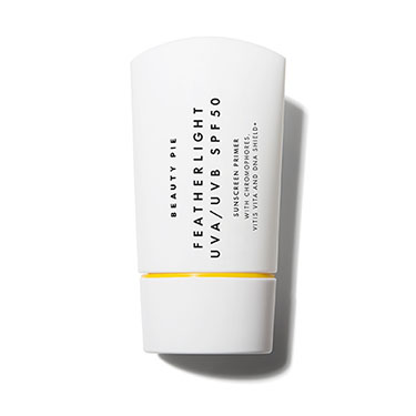 Feather Light UVA/UVB SPF50 Sunscreen Primer by Beauty Pie