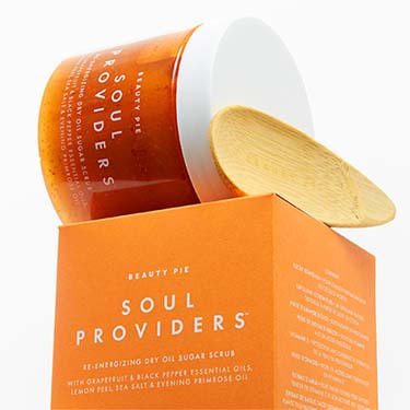Soul Providers™ Re-energizing Dry Oil Sugar Scrub