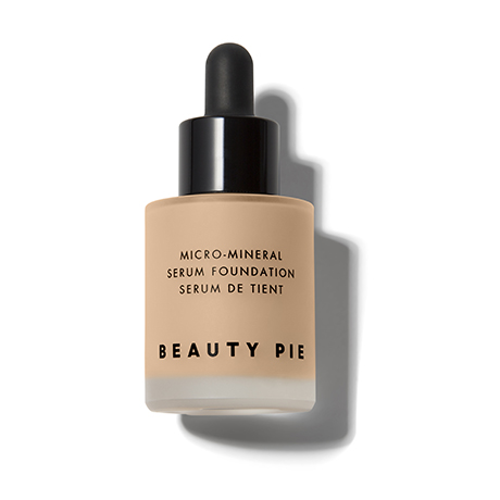 Oil Free Micro-Mineral Serum Foundation in Beige by Beauty Pie