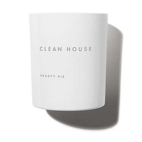 Clean House Luxury Scented Candle by Beauty Pie