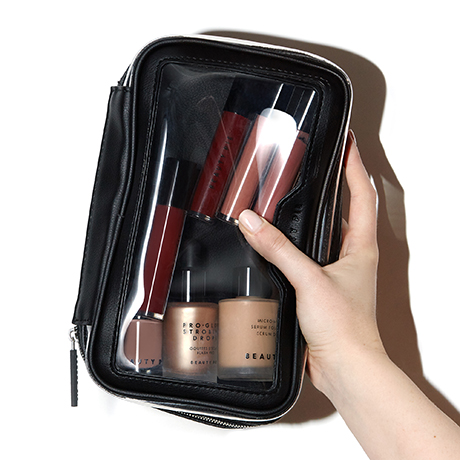 Double-Sided Zip-Around Makeup & Brush Case by Beauty Pie