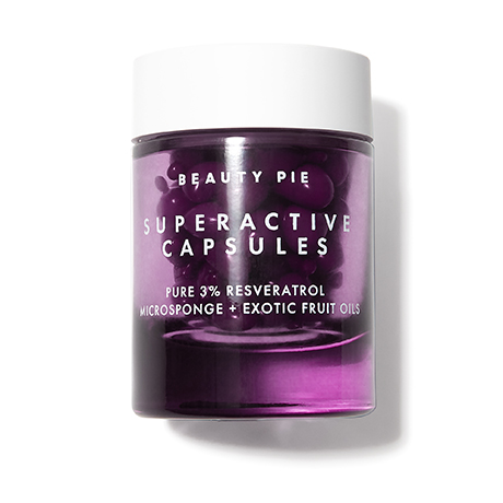 Superactive Capsules Pure 3% Resveratrol Microsponge + Exotic Fruit Oils by Beauty Pie