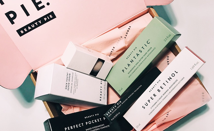 BEAUTY PIE now offers flat-rate shipping