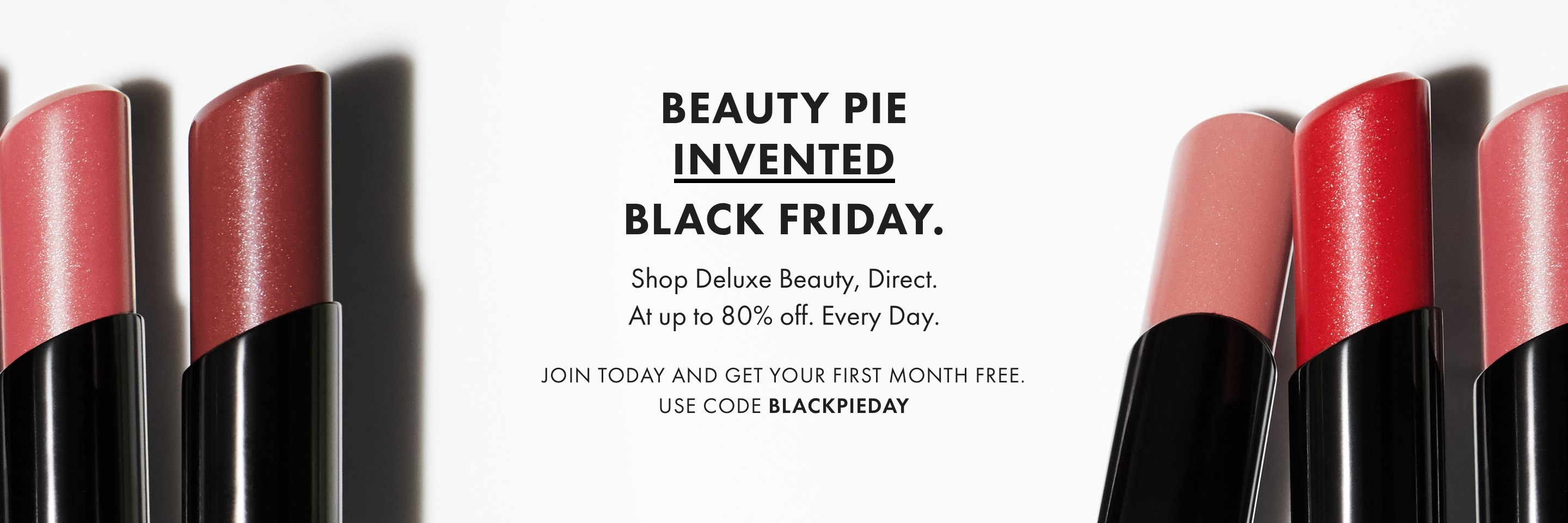 Beauty Pie Invented Black Friday