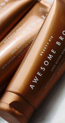 Shop Awesome Bronze Shea Butter Body Blur