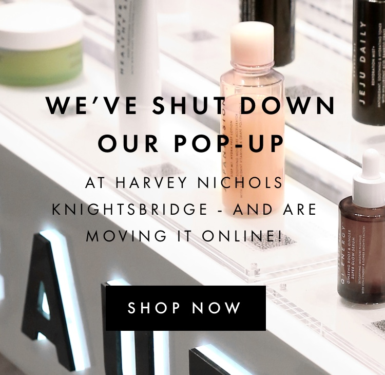 We've Shut Down Our Pop-Up