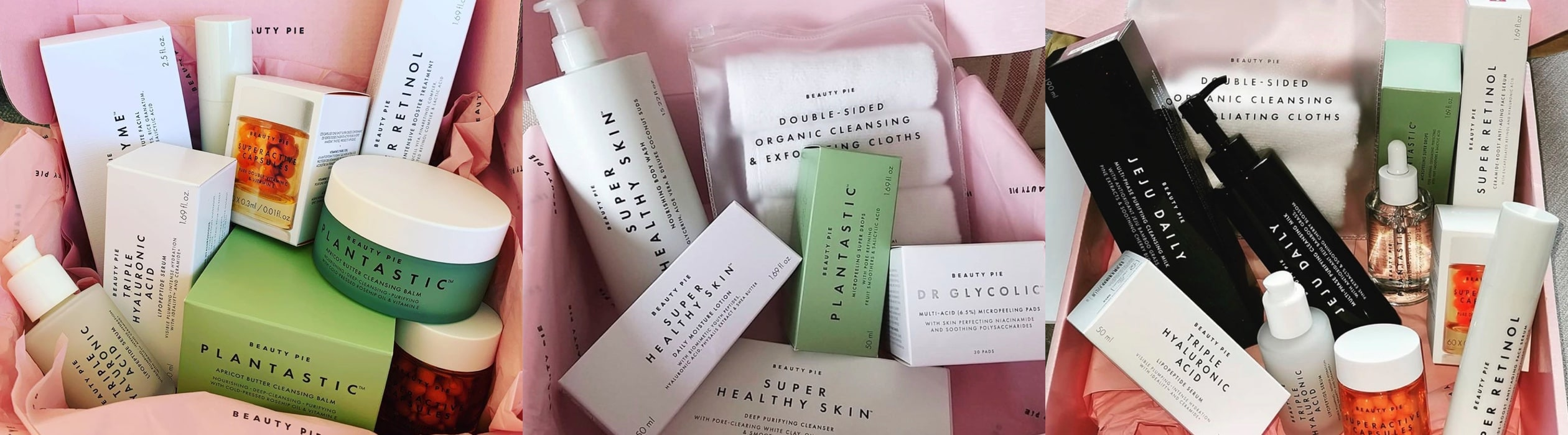 Beauty Pie Product Box